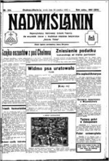 Nadwiślanin. Gazeta Ziemi Chełmińskiej, 1932.12.28 R. 14 nr 294