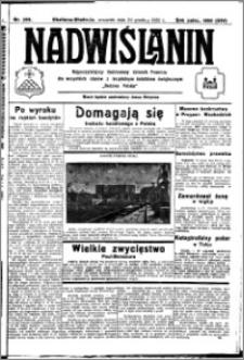 Nadwiślanin. Gazeta Ziemi Chełmińskiej, 1932.12.29 R. 14 nr 295