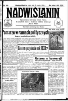 Nadwiślanin. Gazeta Ziemi Chełmińskiej, 1932.12.30 R. 14 nr 296