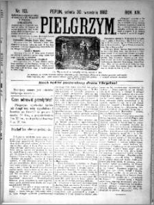 Pielgrzym, pismo religijne dla ludu 1882 nr 113