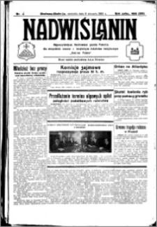 Nadwiślanin. Gazeta Ziemi Chełmińskiej, 1933.01.08 R. 15 nr 4