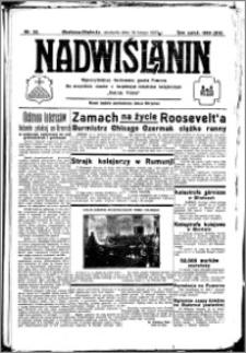 Nadwiślanin. Gazeta Ziemi Chełmińskiej, 1933.02.19 R. 15 nr 22