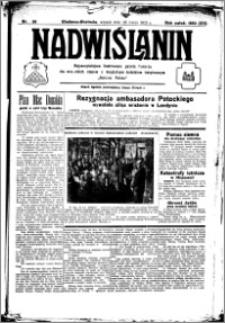 Nadwiślanin. Gazeta Ziemi Chełmińskiej, 1933.03.28 R. 15 nr 38