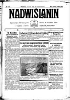 Nadwiślanin. Gazeta Ziemi Chełmińskiej, 1933.04.20 R. 15 nr 48