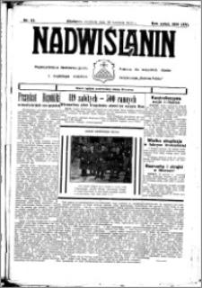 Nadwiślanin. Gazeta Ziemi Chełmińskiej, 1933.04.30 R. 15 nr 52