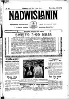 Nadwiślanin. Gazeta Ziemi Chełmińskiej, 1933.05.03 R. 15 nr 53