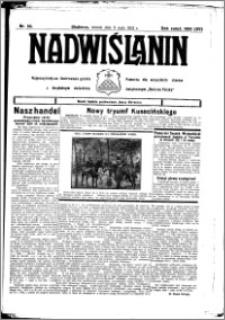 Nadwiślanin. Gazeta Ziemi Chełmińskiej, 1933.05.09 R. 15 nr 55