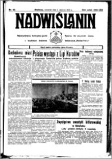 Nadwiślanin. Gazeta Ziemi Chełmińskiej, 1933.06.01 R. 15 nr 65
