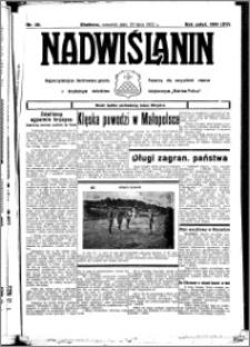 Nadwiślanin. Gazeta Ziemi Chełmińskiej, 1933.07.20 R. 15 nr 85