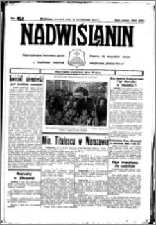 Nadwiślanin. Gazeta Ziemi Chełmińskiej, 1933.10.12 R. 15 nr 121