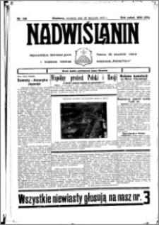 Nadwiślanin. Gazeta Ziemi Chełmińskiej, 1933.11.26 R. 15 nr 139