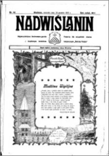 Nadwiślanin. Gazeta Ziemi Chełmińskiej, 1933.12.24 R. 15 nr 151