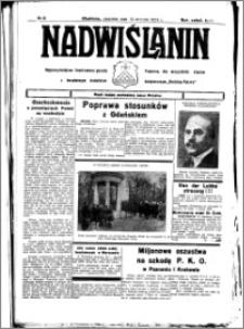 Nadwiślanin. Gazeta Ziemi Chełmińskiej, 1934.01.14 R. 16 nr 5