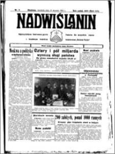 Nadwiślanin. Gazeta Ziemi Chełmińskiej, 1934.01.21 R. 16 nr 8
