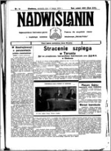 Nadwiślanin. Gazeta Ziemi Chełmińskiej, 1934.02.04 R. 16 nr 14