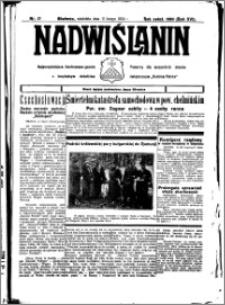 Nadwiślanin. Gazeta Ziemi Chełmińskiej, 1934.02.11 R. 16 nr 17
