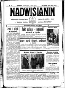 Nadwiślanin. Gazeta Ziemi Chełmińskiej, 1934.03.01 R. 16 nr 25