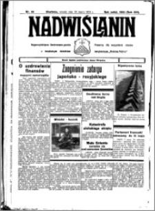 Nadwiślanin. Gazeta Ziemi Chełmińskiej, 1934.03.20 R. 16 nr 33