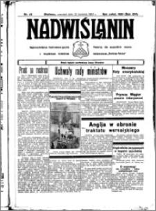 Nadwiślanin. Gazeta Ziemi Chełmińskiej, 1934.04.12 R. 16 nr 42