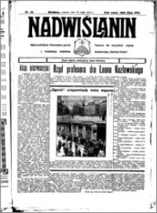 Nadwiślanin. Gazeta Ziemi Chełmińskiej, 1934.05.15 R. 16 nr 56