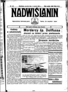 Nadwiślanin. Gazeta Ziemi Chełmińskiej, 1934.08.02 R. 16 nr 89