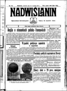 Nadwiślanin. Gazeta Ziemi Chełmińskiej, 1934.09.23 R. 16 nr 110
