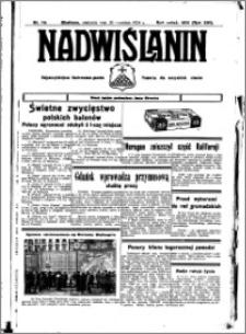 Nadwiślanin. Gazeta Ziemi Chełmińskiej, 1934.09.30 R. 16 nr 114