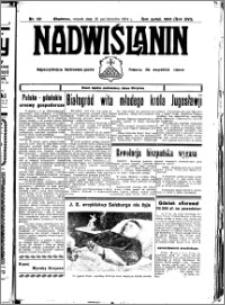 Nadwiślanin. Gazeta Ziemi Chełmińskiej, 1934.10.16 R. 16 nr 121