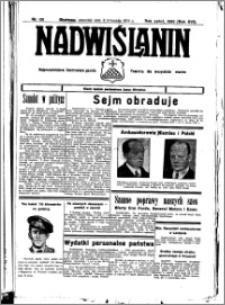 Nadwiślanin. Gazeta Ziemi Chełmińskiej, 1934.11.08 R. 16 nr 131