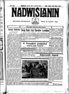 Nadwiślanin. Gazeta Ziemi Chełmińskiej, 1934.12.04 R. 16 nr 142