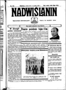 Nadwiślanin. Gazeta Ziemi Chełmińskiej, 1934.12.11 R. 16 nr 145