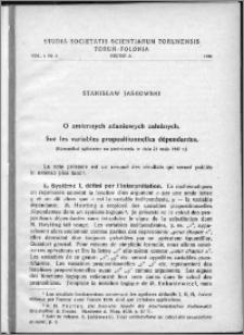 Studia Societatis Scientiarum Torunensis. Sectio A, Mathematica-Physica Vol. 1, nr 2 (1948)