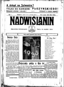 Nadwiślanin. Gazeta Ziemi Chełmińskiej, 1935.01.04 R. 17 nr 1