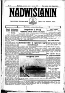 Nadwiślanin. Gazeta Ziemi Chełmińskiej, 1935.01.07 R. 17 nr 2