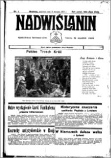 Nadwiślanin. Gazeta Ziemi Chełmińskiej, 1935.01.09 R. 17 nr 3
