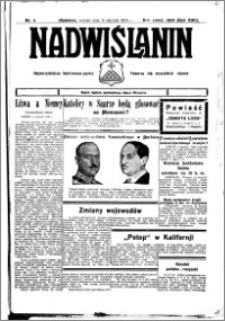 Nadwiślanin. Gazeta Ziemi Chełmińskiej, 1935.01.11 R. 17 nr 4
