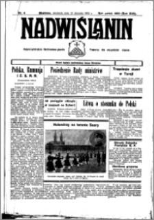 Nadwiślanin. Gazeta Ziemi Chełmińskiej, 1935.01.16 R. 17 nr 6