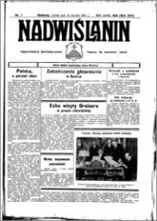 Nadwiślanin. Gazeta Ziemi Chełmińskiej, 1935.01.18 R. 17 nr 7