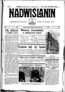 Nadwiślanin. Gazeta Ziemi Chełmińskiej, 1935.01.21 R. 17 nr 8