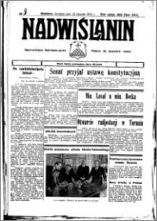 Nadwiślanin. Gazeta Ziemi Chełmińskiej, 1935.01.23 R. 17 nr 9