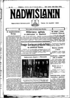 Nadwiślanin. Gazeta Ziemi Chełmińskiej, 1935.01.30 R. 17 nr 12