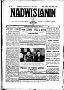 Nadwiślanin. Gazeta Ziemi Chełmińskiej, 1935.02.11 R. 17 nr 17