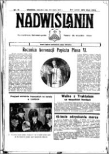 Nadwiślanin. Gazeta Ziemi Chełmińskiej, 1935.02.13 R. 17 nr 18