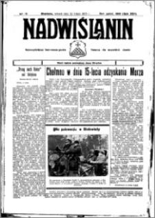 Nadwiślanin. Gazeta Ziemi Chełmińskiej, 1935.02.15 R. 17 nr 19