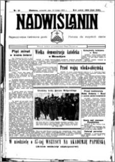 Nadwiślanin. Gazeta Ziemi Chełmińskiej, 1935.02.18 R. 17 nr 20