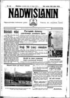 Nadwiślanin. Gazeta Ziemi Chełmińskiej, 1935.02.25 R. 17 nr 23