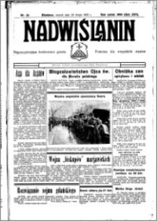 Nadwiślanin. Gazeta Ziemi Chełmińskiej, 1935.03.01 R. 17 nr 25