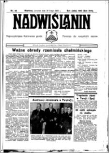 Nadwiślanin. Gazeta Ziemi Chełmińskiej, 1935.03.04 R. 17 nr 26