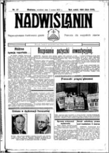 Nadwiślanin. Gazeta Ziemi Chełmińskiej, 1935.03.05 R. 17 nr 27