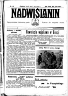 Nadwiślanin. Gazeta Ziemi Chełmińskiej, 1935.03.06 R. 17 nr 28